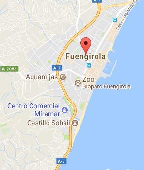 Map of Fuengirola